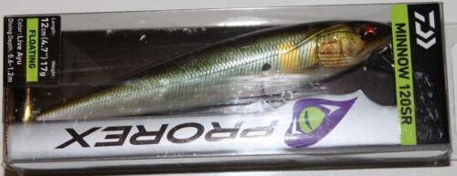 Daiwa Prorex Minnow 120 SR 12cm 17g verschiedene Farben Floating Wobbler Köder