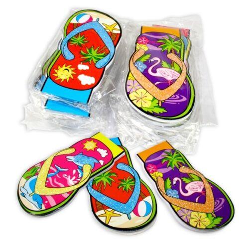Flip Flop Notizblöcke 24 Stück als Mitgebsel//Kleingeschenk für Beachparty Kinder