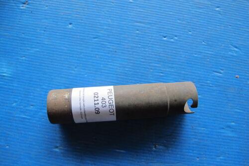 Peugeot 403 Essence Tube acier protecteur de bougie sans collerette pour