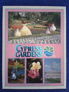 Cypress Gardens 12x Sammler-Postkarte FLORIDA US Karte AK Vintage 90er USA Retro