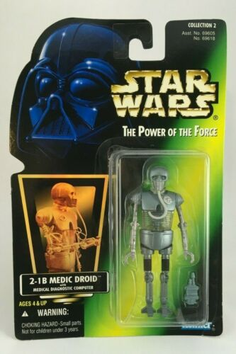 Star Wars Hasbro POTF /& SOTE Green//Purple Carded Action Figures 1996-97