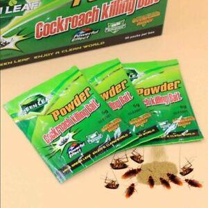 10pcs-Effective-Powder-Cockroach-Killing-Drugs-Roach-Killer-Insecticide-Bait-UK
