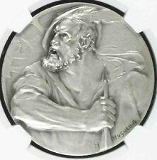 Swiss Silver Medal Shooting Fest Uri Andermatt R-1530a Hefti Edwin NGC MS66 Rare