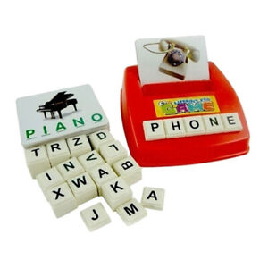 English Spelling Alphabet Letter Machine Educational Toys ...