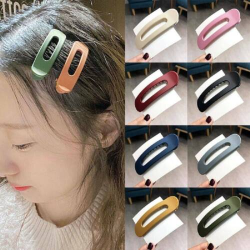Frosted Hair Clip Large Duckbill Clip Korean Candy Color Hairpin Big Barrettes !