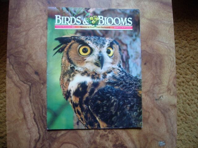 Birds & Blooms Magazine October/November 2003
