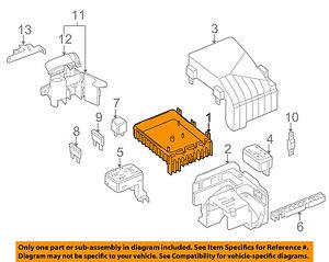 vw volkswagen oem 09 12 cc 2 0l l4 fuse box fuse relay box rh ebay com