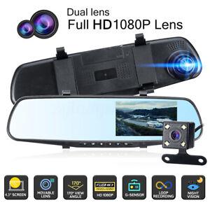 4-3-039-039-1080P-DVR-Dashcam-Enregistreur-video-Camera-de-Recul-Double-lentille-Auto
