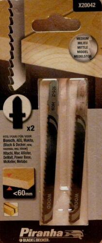 T-Schaft Piranha Stichsägeblätter für Holz X20042