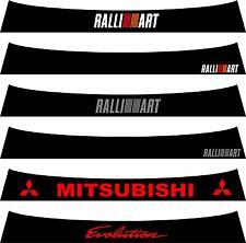 Mitsubishi Sunstrip for an Evo X / 10 - pre cut, no trimming required!!!!