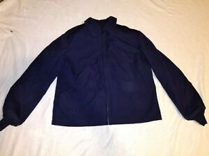 WOMENS-USAF-AIR-FORCE-LIGHT-WEIGHT-DARK-BLUE-16L-POLYESTER-WOOL-JACKET-COAT