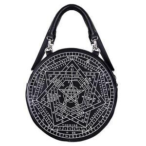 Restyle-Sigillum-Dei-Pentagram-Occult-Symbol-Witch-Gothic-Black-Bag