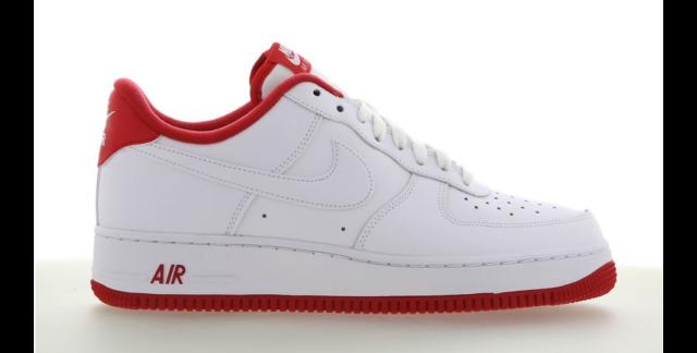 Nike Herren Sneaker in Rot Air Force 1 günstig kaufen | eBay