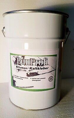Frank Bitumen Kaltkleber Dachpappe Bitumenanstrich Kaltanstrich Kleber Lösemittel Tropf-Trocken Baustoffe & Holz