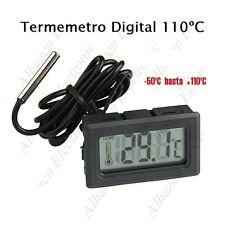 Termómetro Digital Con Sonda Acuario Congelador Motor -50 a +110ºC
