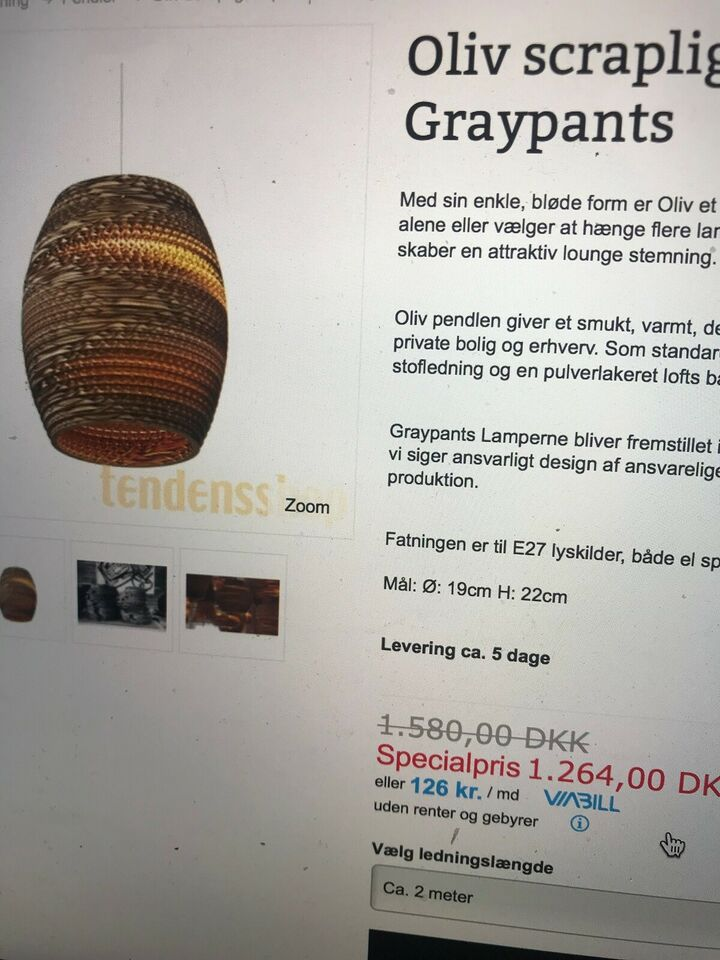 Pendel, Scraplights Graypants oliv