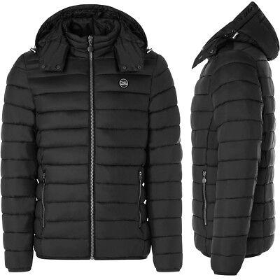Abrigo hombre TWIG Winter Jacket L201 acolchado chaqueta capucha