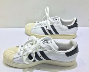 Details about Adidas Mens White Black Shoe Superstar II G17068 Sz 9.5 US 9 UK Shell Toe