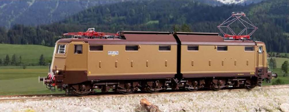 HO - LE Models - ref.20621 - Locomotora eléctrica FS e636.166 Ep.IIIb