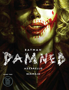 Batman-Damned-2-Harley-cover-DC-Black-Comic-1st-Print-2019-unread-NM