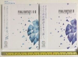 FINAL-FANTASY-I-II-III-amp-IV-ORIGINAL-SOUNDTRACK-REVIVAL-Blu-ray-disc-set-from-JP