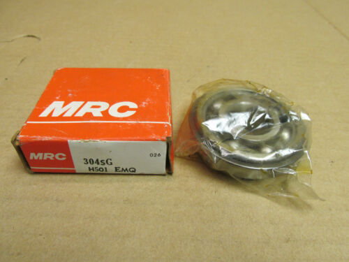 MRC 304SG BEARING OPEN w// snap ring 304 SG 6304-NR-C3 20x52x15 mm USA