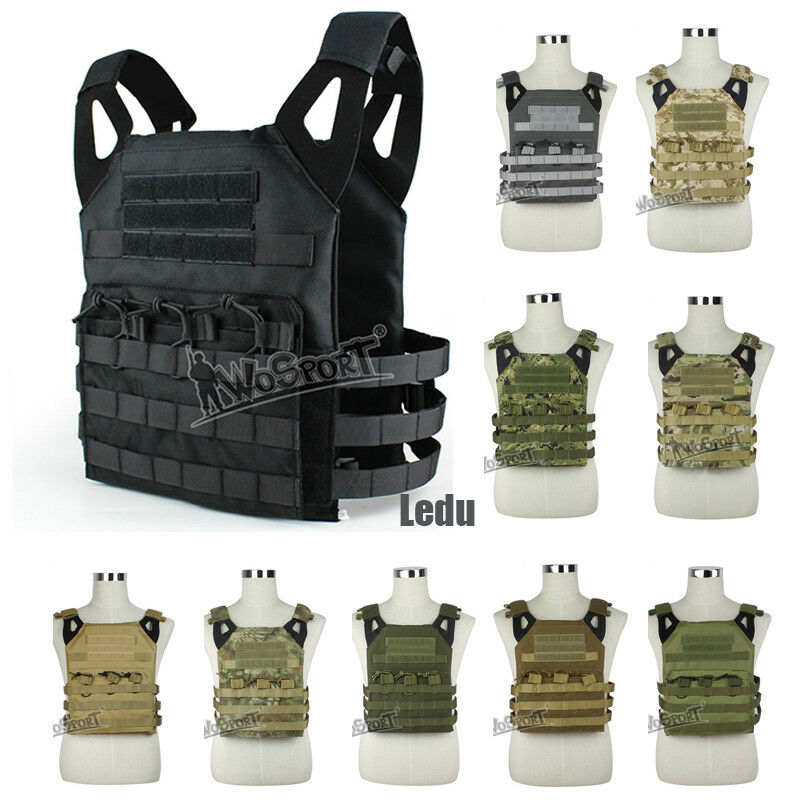 Sport Hunting Military Tactical MOLLE JPC Vest 900D Oxford Clot Protective Gear