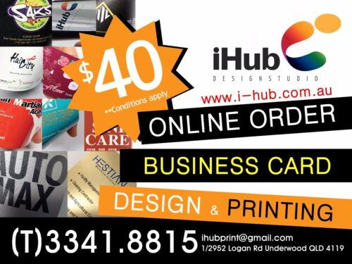 200 Business Cards Full Colour Double Sided Free Design on 300GSM