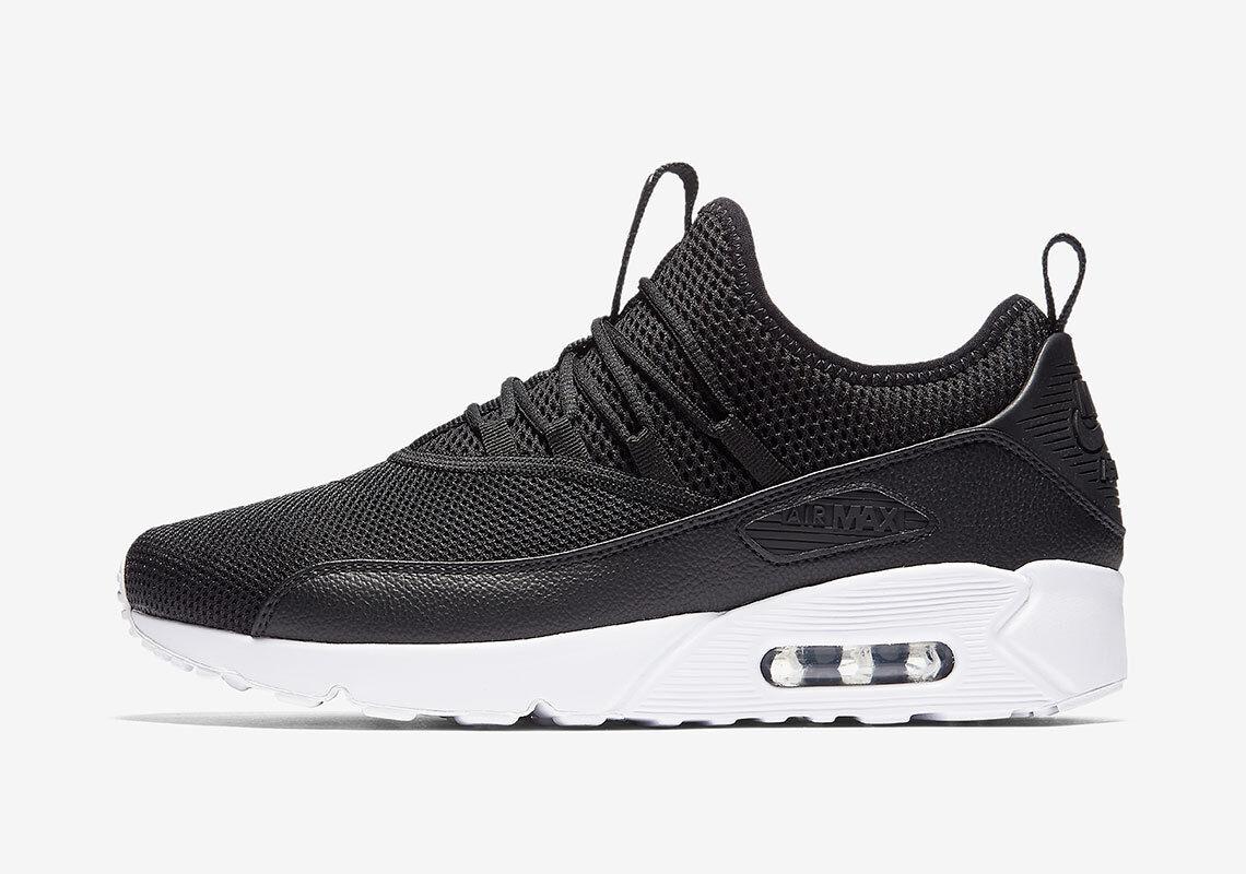 new product e2634 6b975 Nike Air Max 90 EZ BLACK BLACK BLACK WHITE INFRARED SLIP ON OG AO1745-002