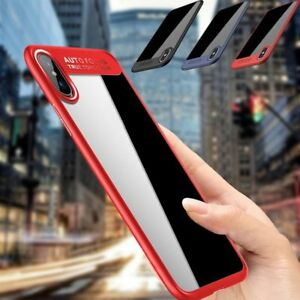 For iPhone X 2017 Released Hybrid Crystal Clear Slim Shockproof Hard Cover Case