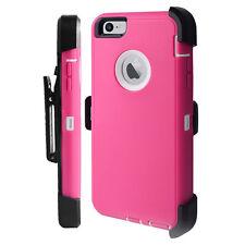 Apple iPhone 7 & 7 Plus 6S Plus 6 Case Cover {Belt Clip fits Otterbox Defender}