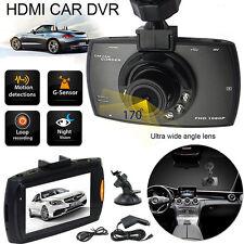 1080P 2.4'' HD LCD Car Dash Camera Video DVR Cam Recorder G-Sensor Night Vision