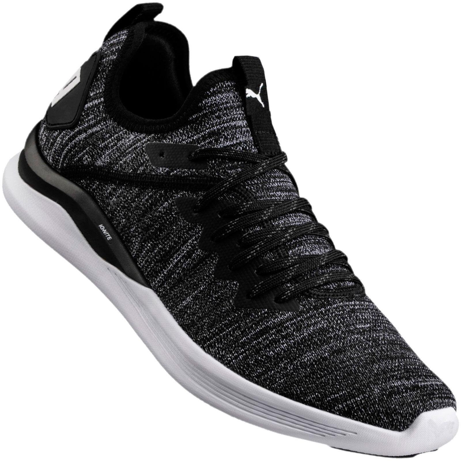 Puma Ignite Flash Evoknit Zapatillas de Deporte Hombres Zapatos Deportivos