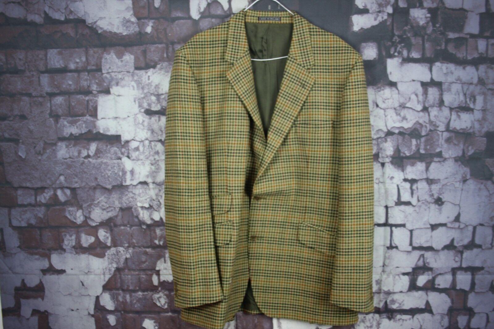 John G Hardy Pure New Wool Sports Coat size 44 No.Y465 06 2