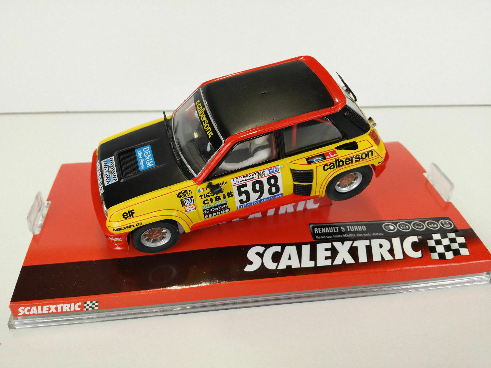 SCX Ref. A10198S300 RENAULT 5 TURBO FIRST RALLY 79 NEW 1 32