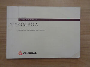 opel omega owners manual