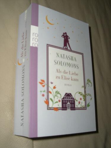 1 von 1 - Als die Liebe zu Elise kam von Natasha Solomons (2013, Taschenbuch)