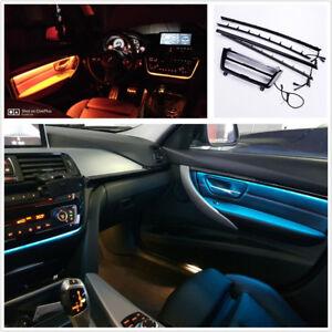 Dual Color Led Car Door Dash Panel Atmosphere Decor Light Strip For
