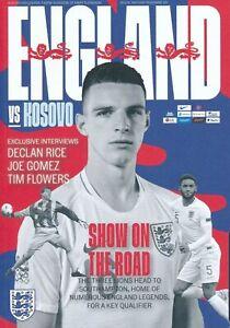 ENGLAND-vs-KOSOVO-EURO-2020-QUALIFIER-PROGRAMME-SOUTHAMPTON-10th-September-2019