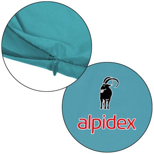 Alpidex Polycotton Hüttenschlafsack Inlay Inlett Rechteckform Decke