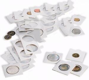 TOP-Lot-de-500-Etuis-pour-Monnaies-diametre-au-choix-17-5-a-39-5-mm
