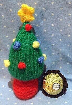 KNITTING PATTERN - The Christmas Tree chocolate cover fits Ferrero Rocher | eBay