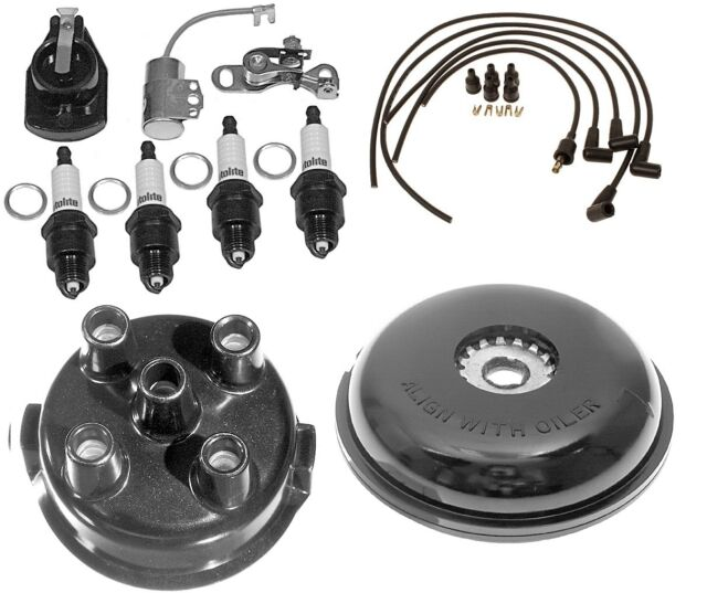 complete tune up kit for ford 8n tractor w side mount distributor rh ebay com