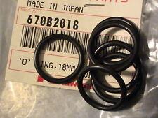 #CG NOS Kawasaki Vulcan Teryx KLR oil pump filter radiator cover o ring 670B2018