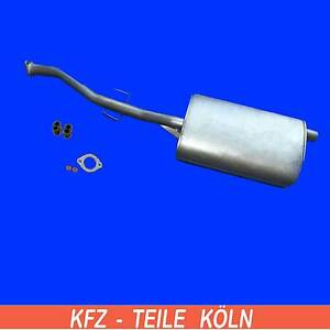 Sistema-de-escape-OPEL-FRONTERA-A-2-4i-SILENCIADOR-Central-Kit