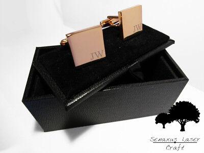 Oro Rosa Inciso Gemelli & Scatola Regalo Personalizzato Gemelli Matrimonio Rgcls 5-