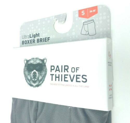 """Pair of Thieves Men/'s Ultra Light Snug Fit Boxer Brief Size Small 28-30/"""" 1"""