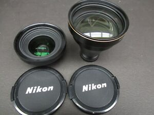 Nikon TC E3ED 3x Lens with filter aslnd Front/Rear caps in