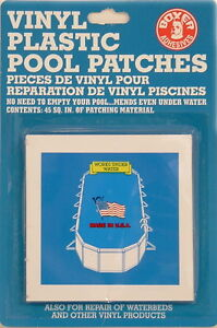 Swimming Pool Vinyl Liner Inflatable Repair Pool Patches Small Ebay