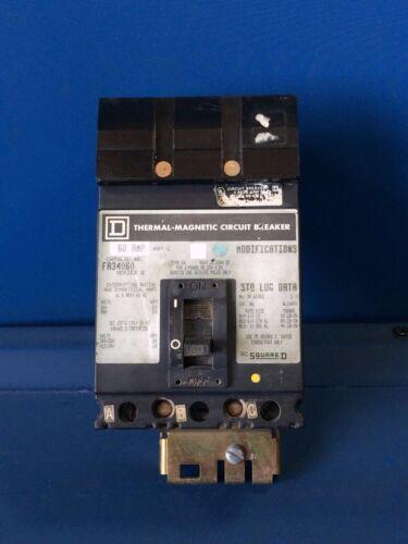 SQUARE D FA34060 60A 480V 3P I-LINE CIRCUIT BREAKER